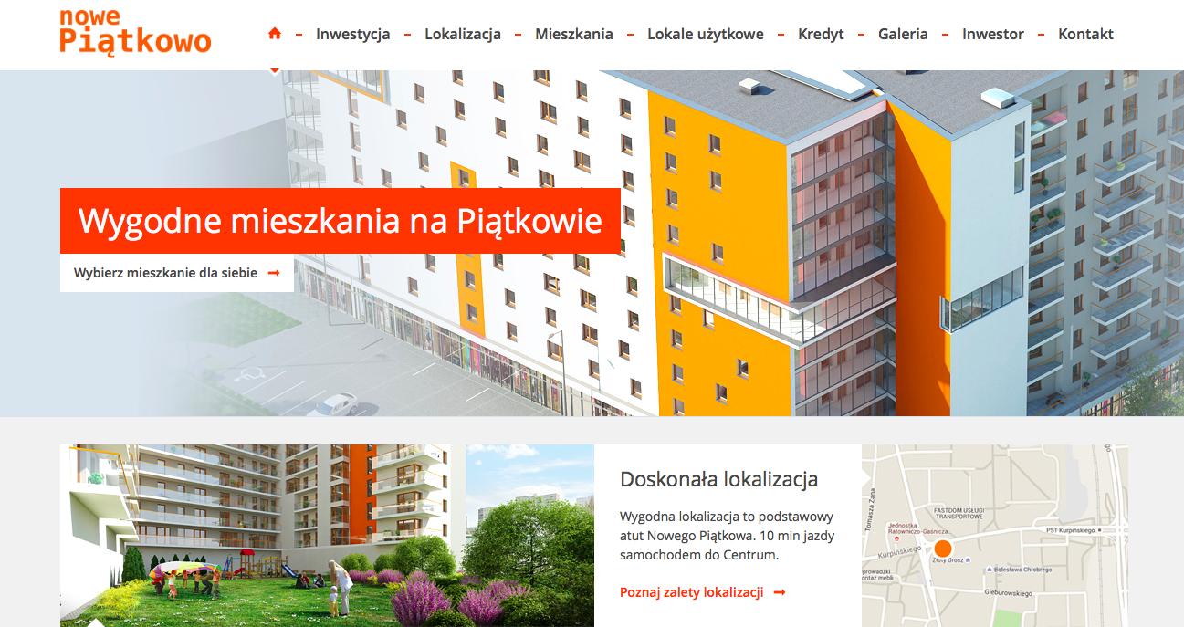 Inwestycja mieszkaniowa wielorodzinna ul. Kurpinskiego Poznan