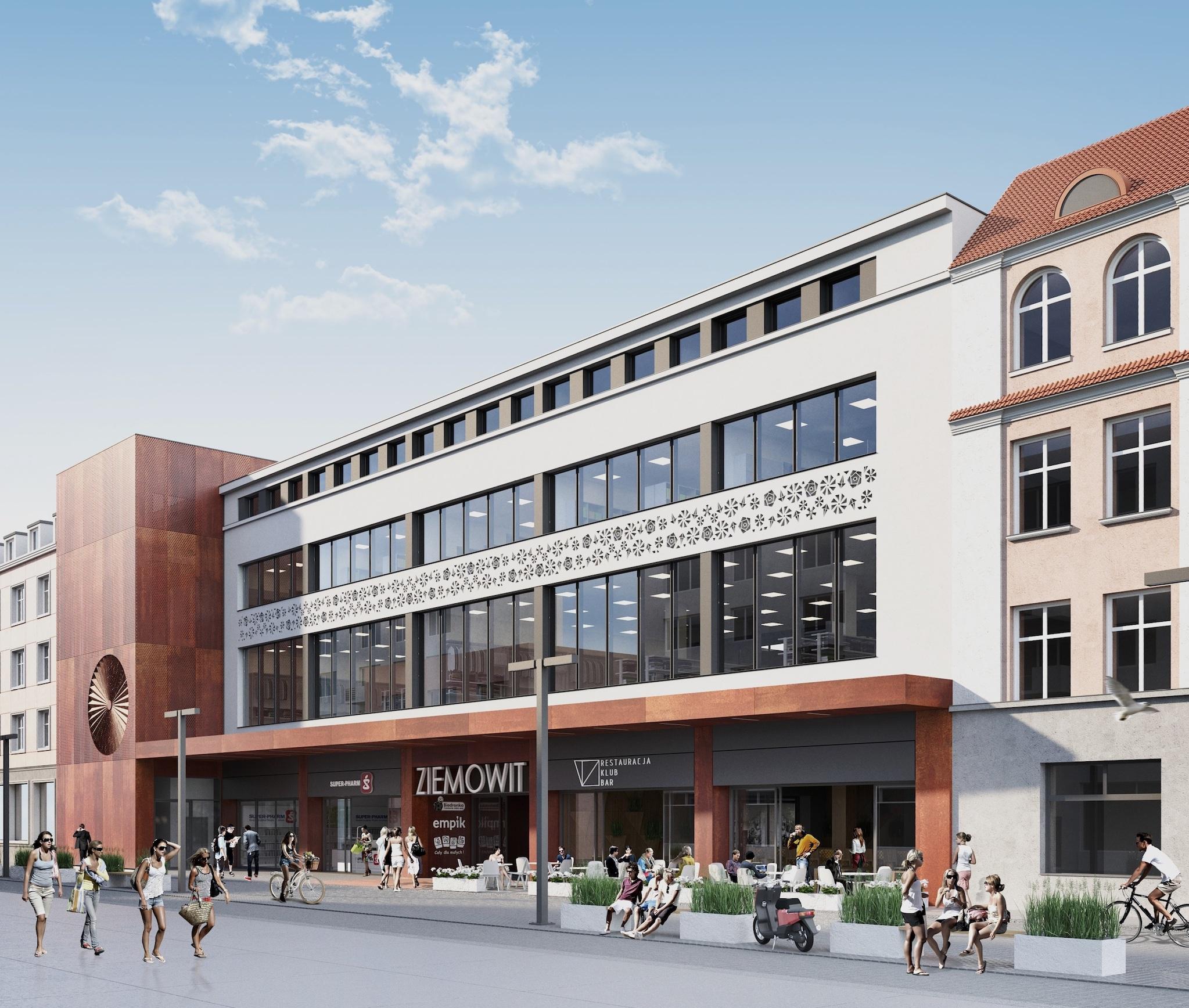 Biznes plan budynek handlowy Ziemowit